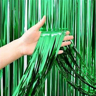 Cortina Decorativa Verde