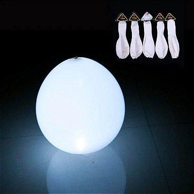Balão Látex com Led - 5 unidades