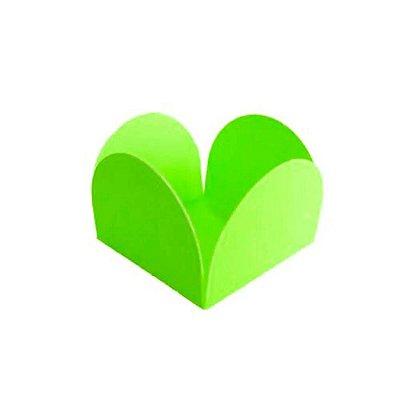 Porta Forminha Verde Neon - 50 unidades