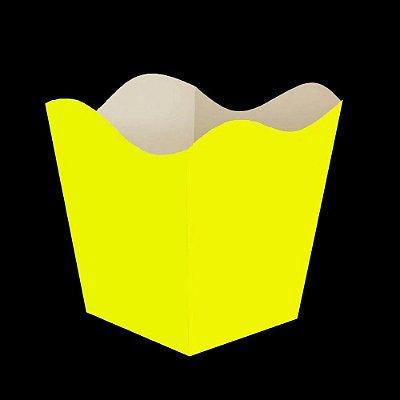 Cachepot Amarelo Neon - 8 unidades