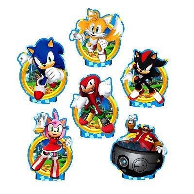 Enfeites de Mesa em EVA Sonic