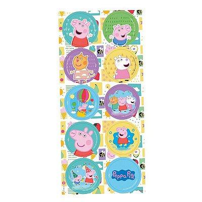 Adesivo Peppa Pig - 3 cartelas