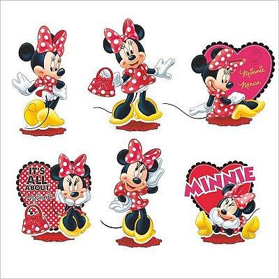Kit Decorativo Minnie EVA - 6 unidades