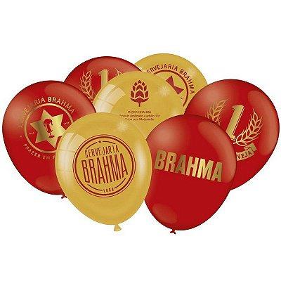 Balão Brahma - 25 unidades