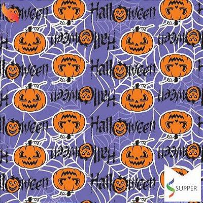TNT Estampado Halloween Abóboras - 1 metro
