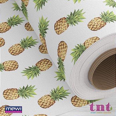 TNT Estampado Abacaxi - 1 metro