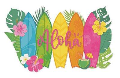 Painel Festa Havaiana