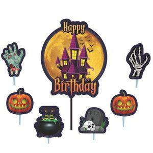 Topo de Bolo Halloween Piffer