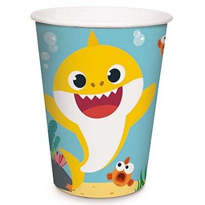 Copo Baby Shark - 8 unidades