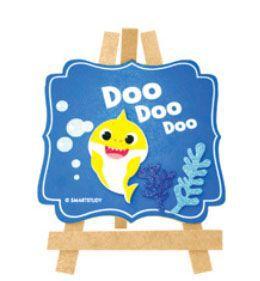 Placa MDF Baby Shark