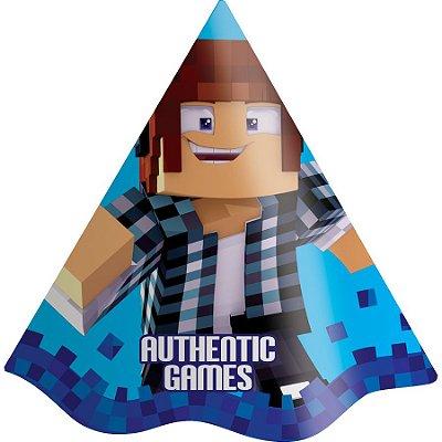 Chapéu de Festa Authentic Games - 8 unidades