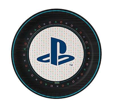 Prato de Festa PlayStation - 8 unidades