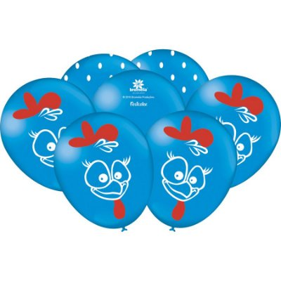 Balão de Festa Galinha Pintadinh - 25 unidades
