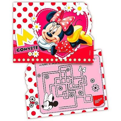 Convite de Festa Minnie - 8 unidades