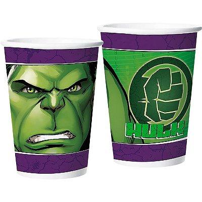 Copo de Festa Hulk - 12 unidades