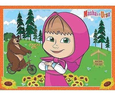 Painel TNT Masha e o Urso