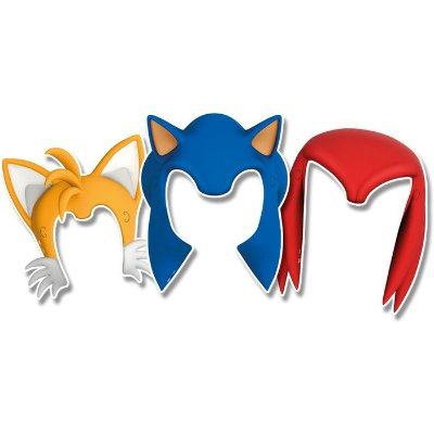 Acessório De Papel Sonic - 6 unidades