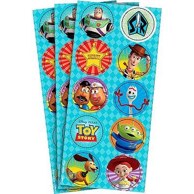 Adesivo Toy Story - 3 cartelas