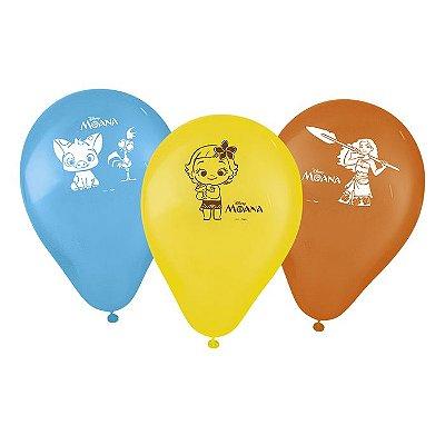 Balão de Festa Moana - 25 unidades
