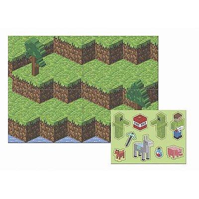 Painel de Festa Mini Pixels