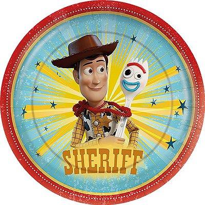 Prato de Festa Toy Story - 12 unidades