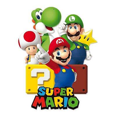 Painel de Festa Super Mario Bros
