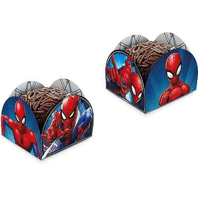 Porta Forminha para Doces Homem Aranha - 50 unidades