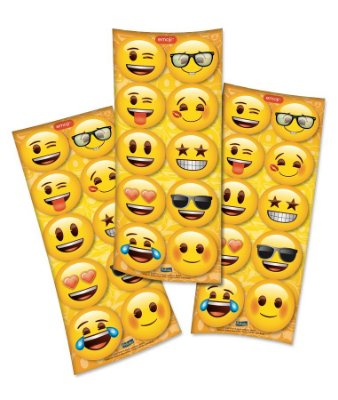 Adesivo Emoji - 3 cartelas