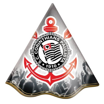 Chapéu de Festa Corinthians- 8 unidades