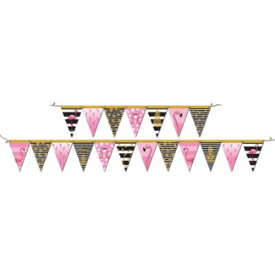 Faixa Decorativa Flamingo