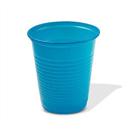 Copo Descartável Azul 200 ml - 50 unidades