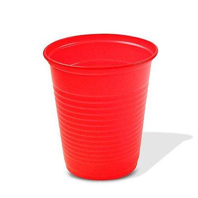 Copo Descartável Vermelho 200 ml - 50 unidades