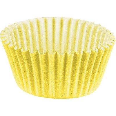 Forminha Brigadeiro n5 Amarelo - 100 unidades