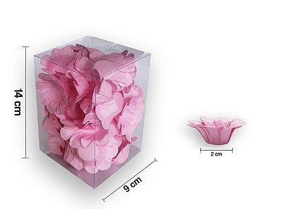 Forminha Florença Rosa - 40 unidades