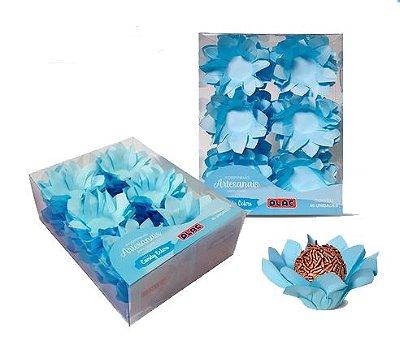 Forminha Veneza Azul Candy - 40 unidades