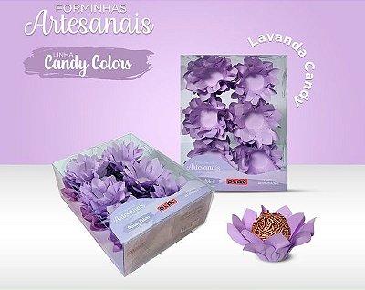 Forminha Veneza Lilás Candy - 40 unidades