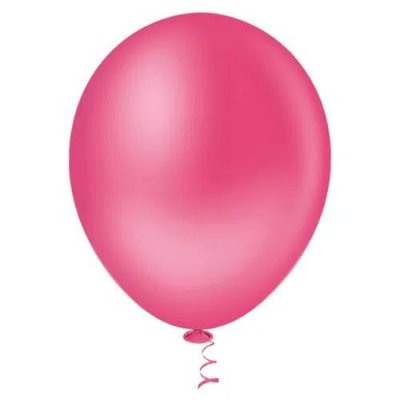 Balão Pink 9 Polegadas - 50 unidades
