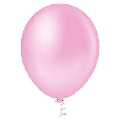 Balão Rosa Bebê 6,5 Polegadas - 50 unidades