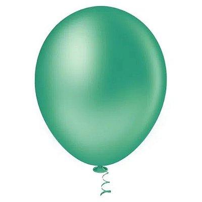 Balão Verde Escuro 6,5 Polegadas - 50 unidades
