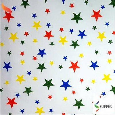TNT Estampado Estrelas - 1 metro