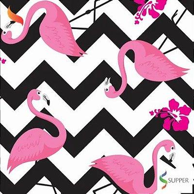 TNT Estampado Flamingo - 1 metro