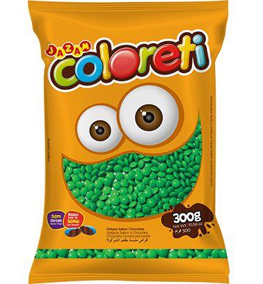 Coloreti Verde 300 gramas