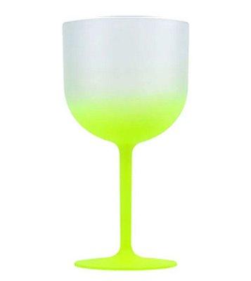 Taça Gin Amarelo Limão Degradê