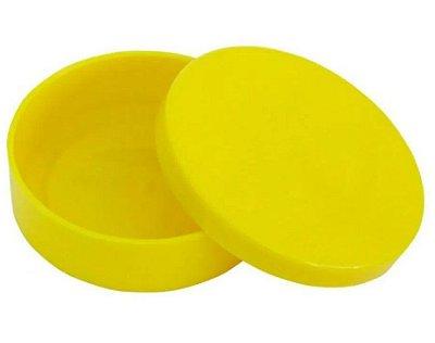 Latinha Plástica Amarela - 10 unidades