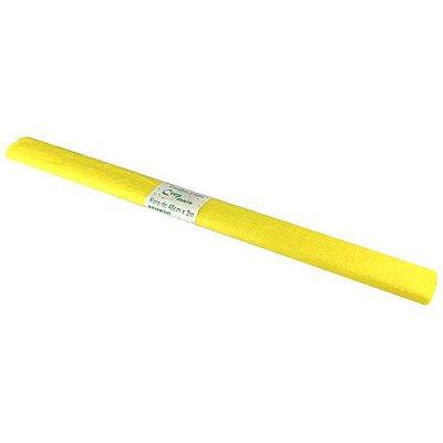 Papel Crepom Amarelo