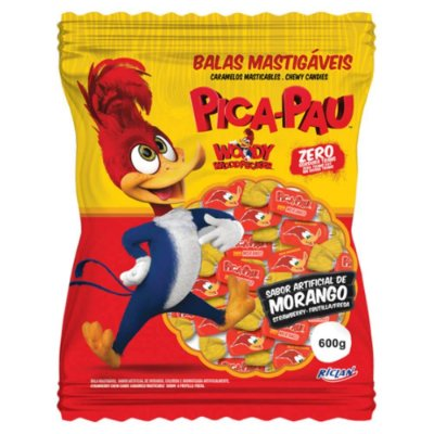 Bala Sortidas Pica-Pau 600 gramas