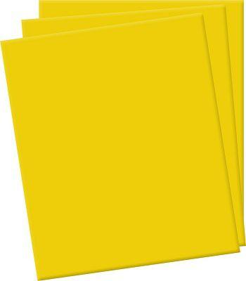 Placa de EVA Lisa Amarelo - 1 unidade