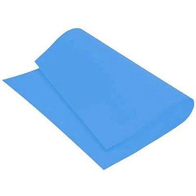 Placa de EVA Lisa Azul - 1 unidade