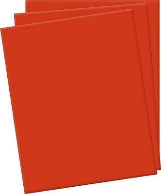 Placa de EVA Lisa Vermelho - 1 unidade