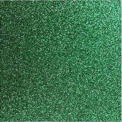 Placa de EVA Glitter Verde- 1 unidade